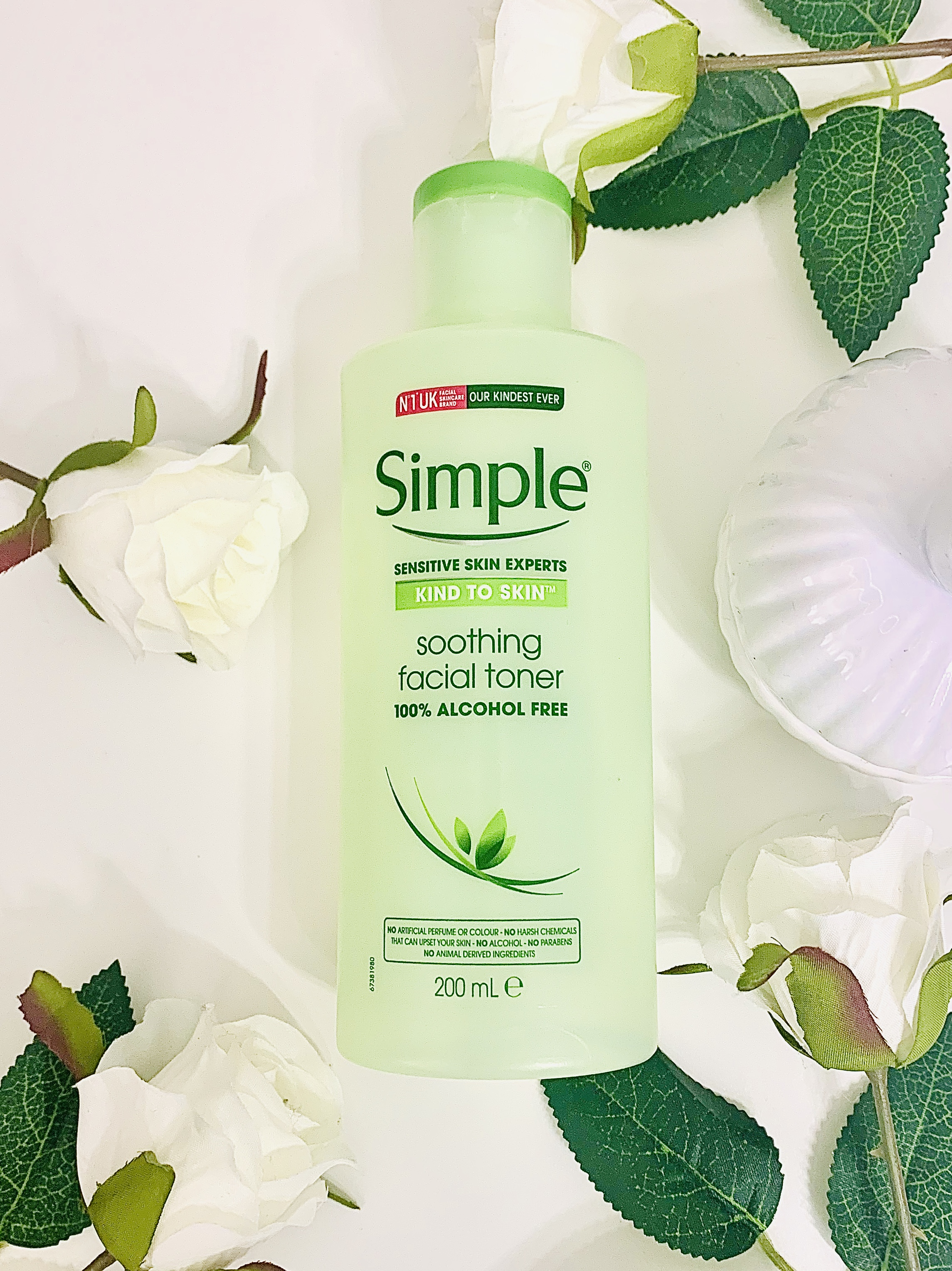 Simple Soothing Facial Toner for Oily Skin