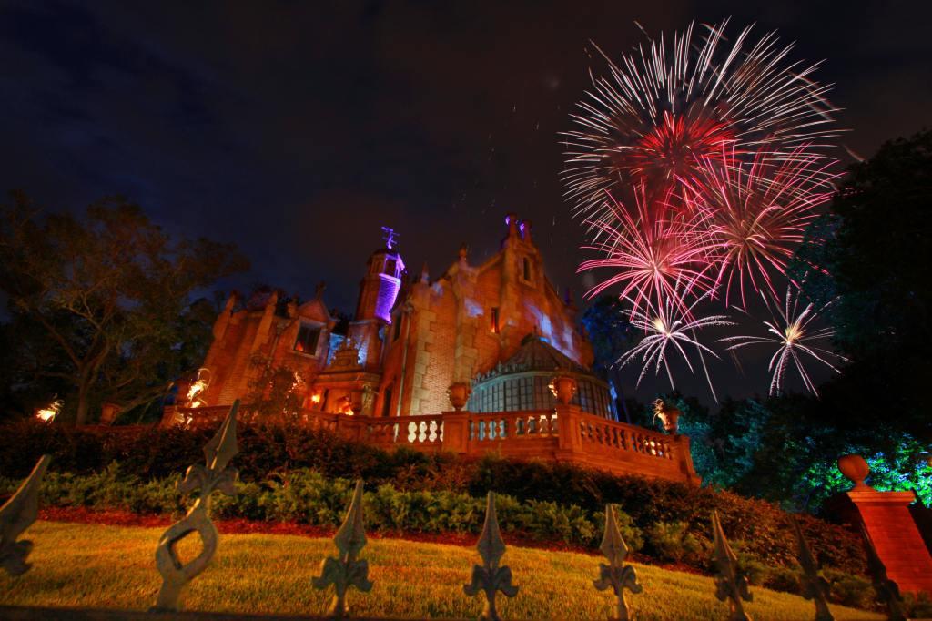 The Haunted Mansion, Disneyworld Orlando Magic Kingdom