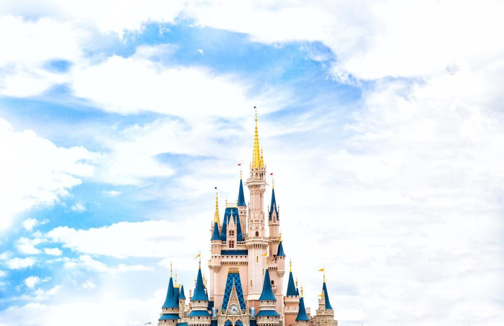 Princess Castle and DisneyWorld Orlando