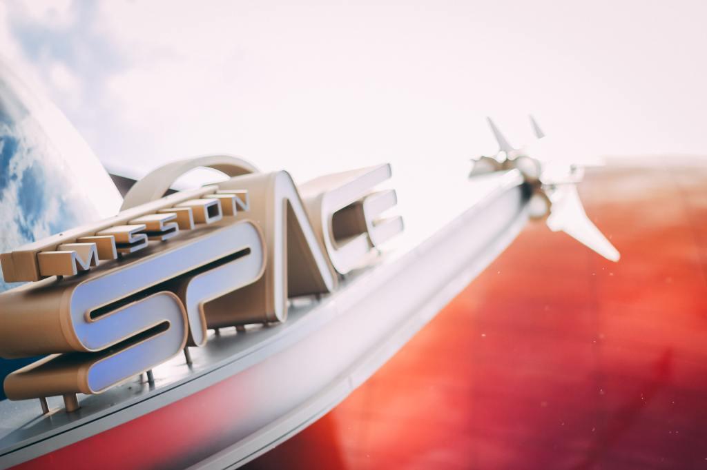 Mission Space, Epcot, Disneyworld Orlando