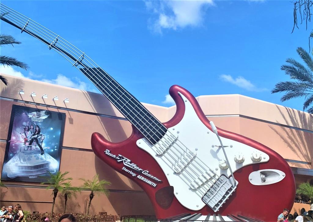 Rock N Roller Coaster, Disneyworld Orlando Hollywood Studios