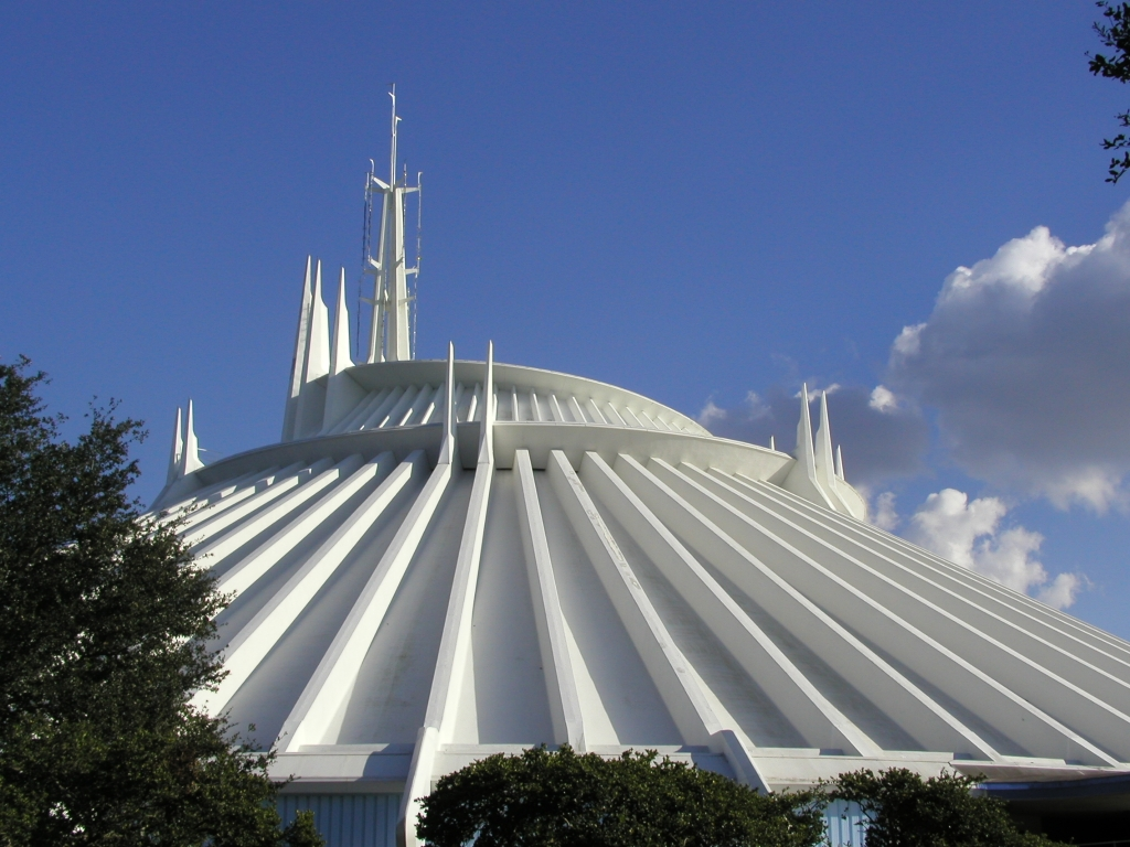 Space Mountain at Magic Kingdom DisneyWorld Orlando
