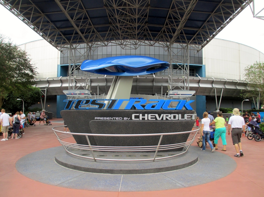 Test Track, Epcot, Disneyworld Orlando