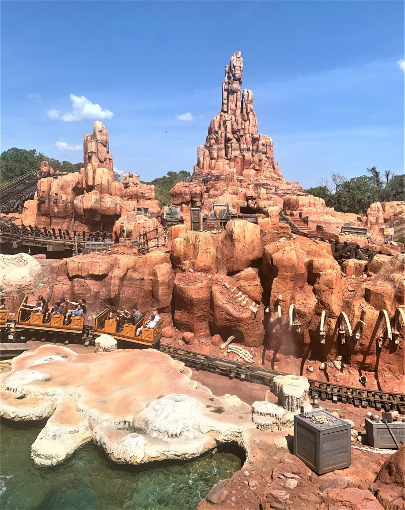 Big Thunder Mountain, Disneyworld Orlando Magic Kingdom