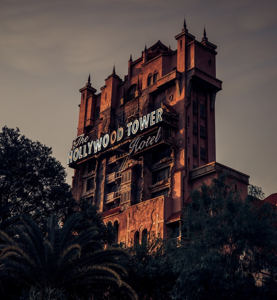 Tower of Terror, Disneyworld Orlando Hollywood Studios