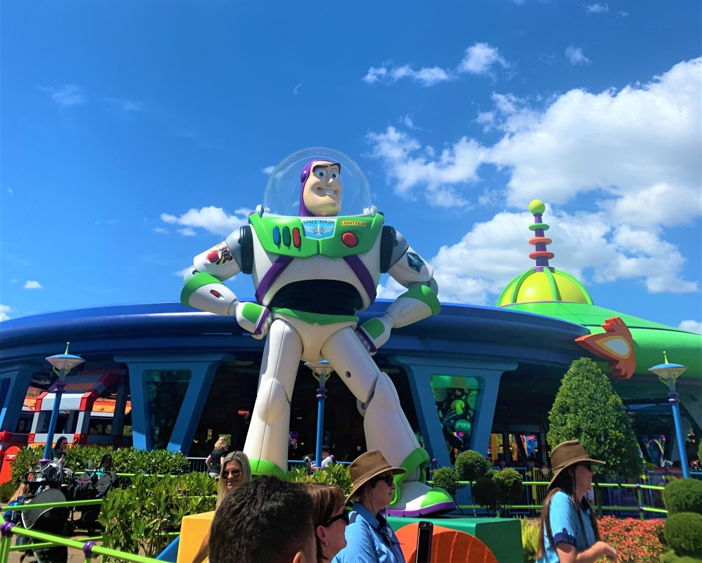 Buzz Light Year, Disneyworld Orlando Hollywood Studios