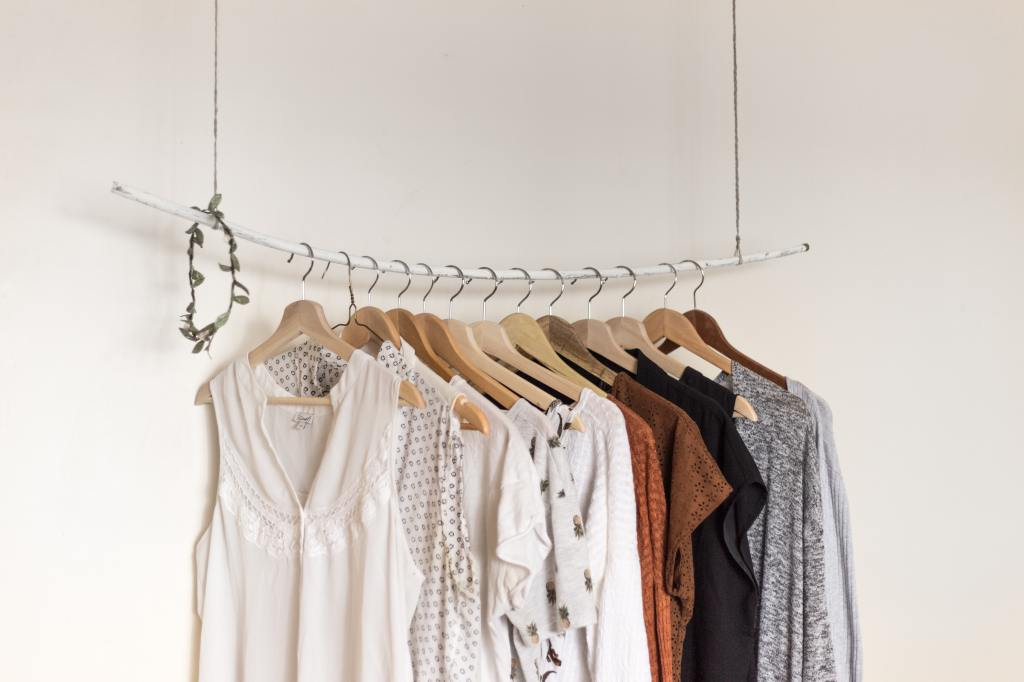 Clothes Rail - Arrange Clothes night before to be productive