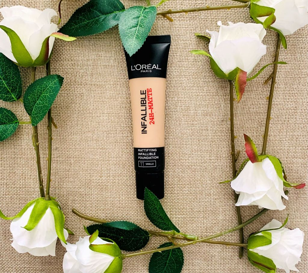 L'Oreal Infallible 24hr Matte Foundation (Oily Skin Foundation)