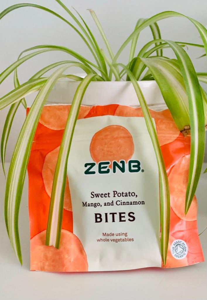 ZENB Sweet Potato, Mango and Cinnamon Bites