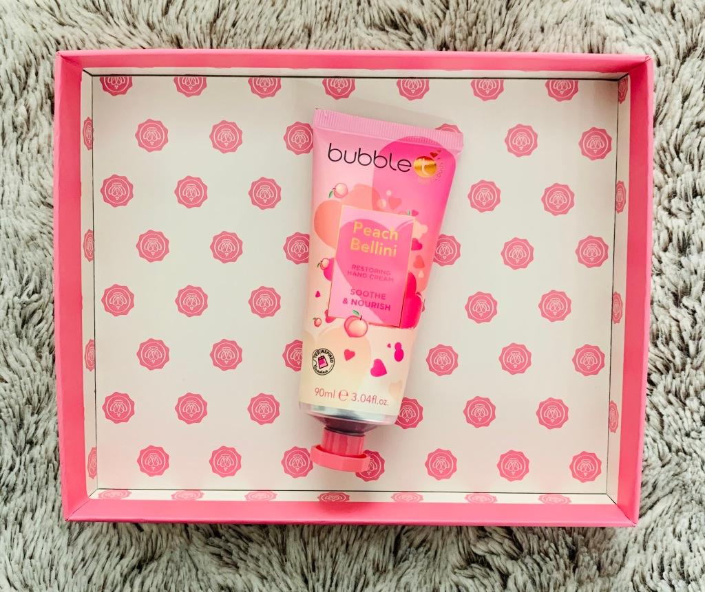 Bubble T Cosmetics Peach Bellini Hand Cream