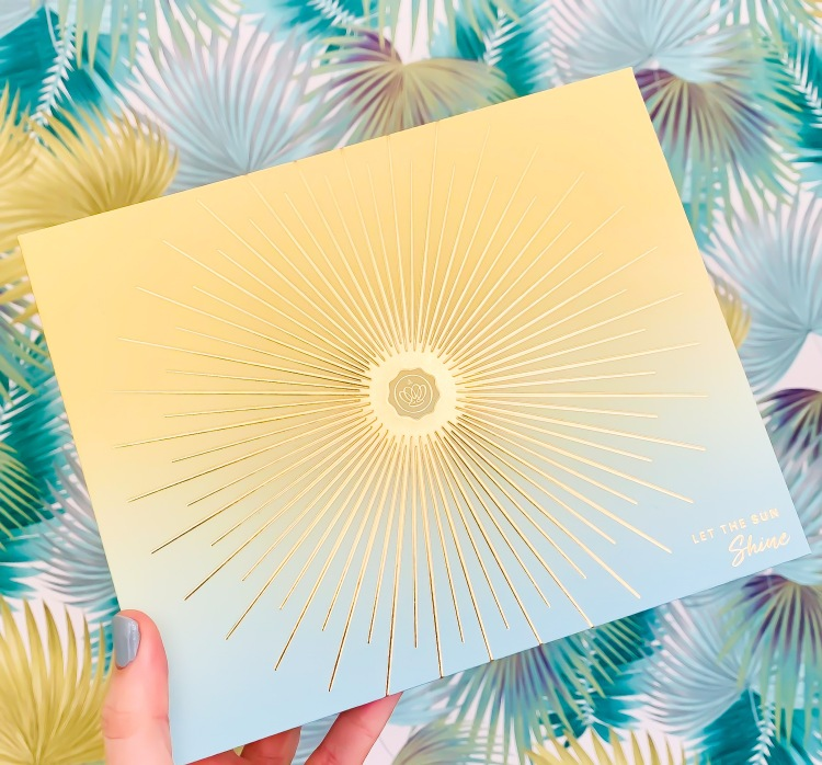 May Glossybox Let the Sun Shine Packaging