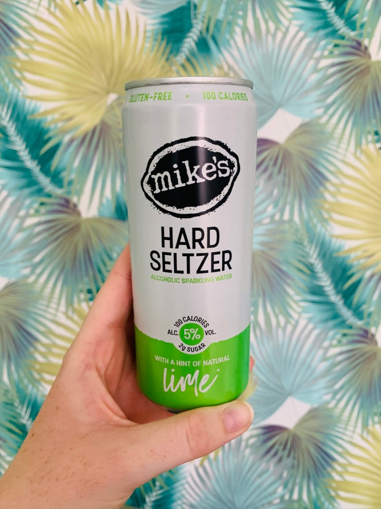 Mikes Hard Seltzer with a Hint of Natural Lime